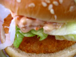 McDonald's Ebi burger
