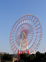 Ferris Wheel on the roof of Venus Fort